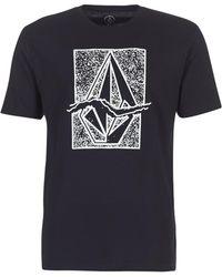 Volcom - Ripstone Men's T Shirt In Black - Lyst