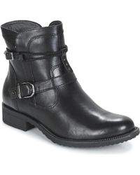 Tamaris - Anouk Women's Mid Boots In Black - Lyst