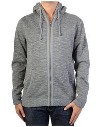 Le Temps Des Cerises - Sweatshirthirt-shirt Jet Grey Melange Men's Sweatshirt In Grey - Lyst