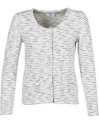 Le Temps Des Cerises - Demy Women's Jacket In White - Lyst