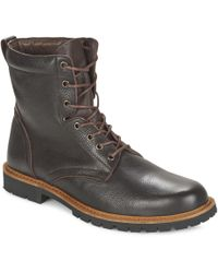 So Size - Army Men's Mid Boots In Brown - Lyst