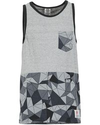 Franklin & Marshall - Cordell Men's Vest Top In Grey - Lyst