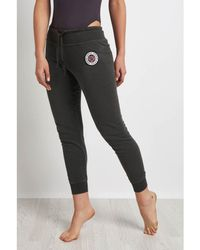 Spiritual Gangster - Sg Varsity Logo Sweatpants Women's Tights In Multicolour - Lyst