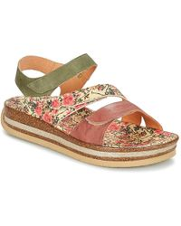 Think! - Yolade Women's Sandals In Green - Lyst