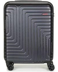 American Tourister - Spinner 55cm Men's Hard Suitcase In Black - Lyst