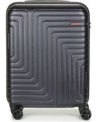 American Tourister - Spinner 55cm Women's Hard Suitcase In Black - Lyst