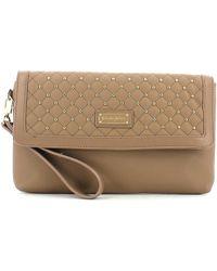 Byblos Blu - 645066 Pochette Accessories Turtledove Women's Clutch Bag In Grey - Lyst