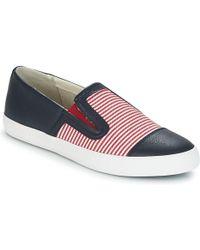 Geox - D Giyo B Women's Slip-ons (shoes) In Blue - Lyst
