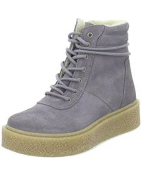 Tamaris - Snow Women's Shoes (high-top Trainers) In Grey - Lyst
