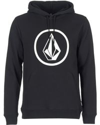 Volcom - Stone Po Men's Sweatshirt In Black - Lyst
