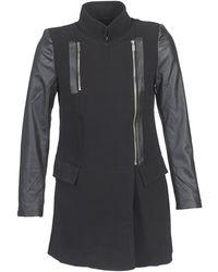 Moony Mood - - Women's Coat In Black - Lyst