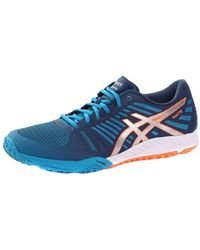 Asics - Fuzex Tr 4393 Men's Shoes (trainers) In Blue - Lyst