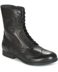 Birkenstock - Larami Women's Mid Boots In Black - Lyst