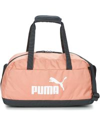 PUMA - Phase Sport Bag Women's Sports Bag In Pink - Lyst
