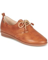 Pikolinos | Calabria W9k Women's Casual Shoes In Brown | Lyst