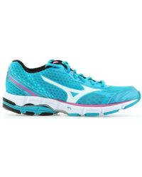 f88ca3d3bb57 Mizuno - Wave Connect W J1gd144804 Women's Shoes (trainers) In Blue - Lyst