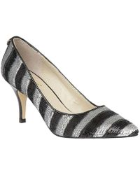 Lotus - Mosta Womens Dress Court Shoes Women's Court Shoes In Silver - Lyst
