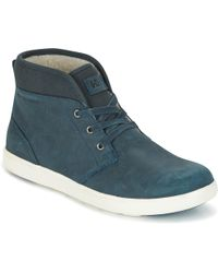 Helly Hansen - Gerton Men's Shoes (high-top Trainers) In Blue - Lyst