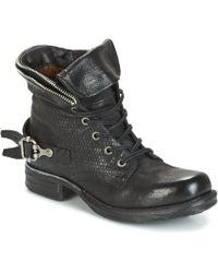 A.S.98 - Saint Pa Women's Mid Boots In Black - Lyst
