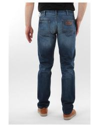 f43b653a Wrangler - Spodnie Męskie 16cy650i Colton Men's Skinny Jeans In Blue - Lyst