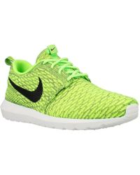 the best attitude 3db3f ceedd Nike - Roshe Nm Flyknit Men s Shoes (trainers) In Multicolour - Lyst