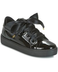 Guess - Urny Women's Shoes (trainers) In Black - Lyst