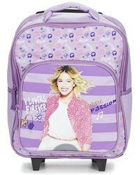 Disney - Violetta Sac A Dos Trolley 35cm Girls's Children's Rucksack In Purple - Lyst
