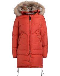 Parajumpers - Long Bear Woman Paprika Women's Jacket In Orange - Lyst