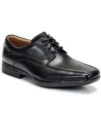 Clarks - Francis Men's Casual Shoes In Black - Lyst