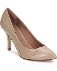 Chinese Laundry - Area Women's Court Shoes In Beige - Lyst