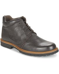 So Size - Wood Men's Mid Boots In Brown - Lyst