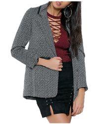 Infinie Passion - Coat 00w059712 Women's Coat In Black - Lyst