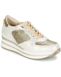 Pitillos - Martac Women's Shoes (trainers) In Silver - Lyst