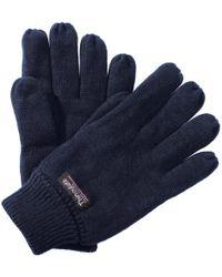 Regatta - Unisex Thinsulate Thermal Winter Gloves Women's Gloves In Blue - Lyst