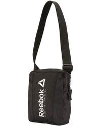 Reebok - Bk6026 Men's Shoulder Bag In Black - Lyst