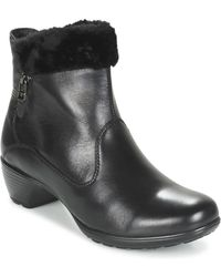 Romika - Banja 12 Women's Low Ankle Boots In Black - Lyst