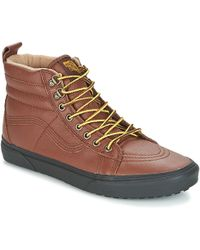 ddbf6c00fb1380 Vans Sk8-hi Boot Mte Dx Shoes (high-top Trainers) in Green for Men ...