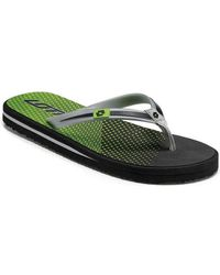 Lotto - S8119 Flip Flops Man Verde Men's Flip Flops / Sandals (shoes) In Green - Lyst