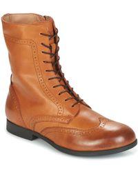 Birkenstock - Larami Women's Mid Boots In Brown - Lyst