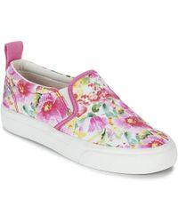 Polo Ralph Lauren   Carlee Twin Gore Women's Slip-ons (shoes) In Pink   Lyst
