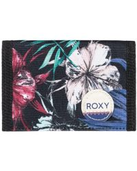 Roxy - Small Beach - Monedero Women's Purse In Black - Lyst