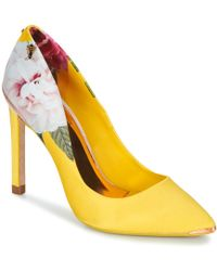 47797740974 Ted Baker - Melnip Women s Court Shoes In Yellow - Lyst