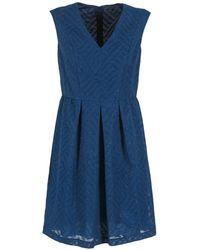 Benetton - Jesabe Women's Dress In Blue - Lyst