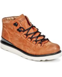 Blackstone - Vetune Women's Shoes (high-top Trainers) In Brown - Lyst