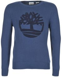 Timberland - River Merino Men's Jumper In Blue - Lyst