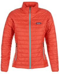 Patagonia - Nano Puff Jkt Women's Jacket In Red - Lyst