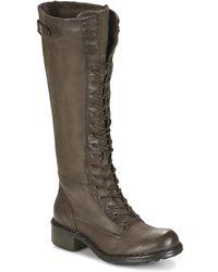 Dream in Green - Waddah Women's High Boots In Grey - Lyst