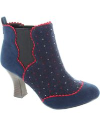Ruby Shoo - Sammy Women's Low Boots In Blue - Lyst