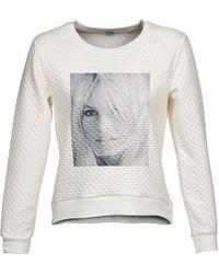 Brigitte Bardot - Alice Women's Sweatshirt In White - Lyst