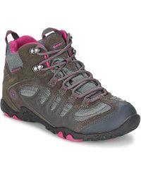 Hi-Tec - Penrith Mid Wp Women's Women's Walking Boots In Grey - Lyst
